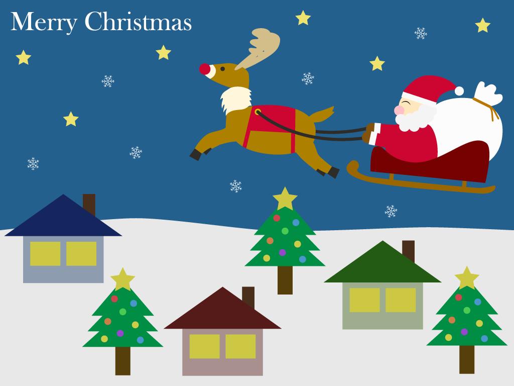 クリスマスの無料イラスト フリー素材集 - カフィネット