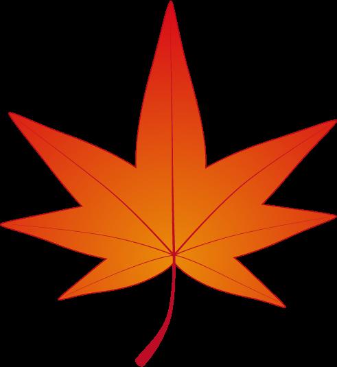 紅葉(もみじ)のフリー素材1