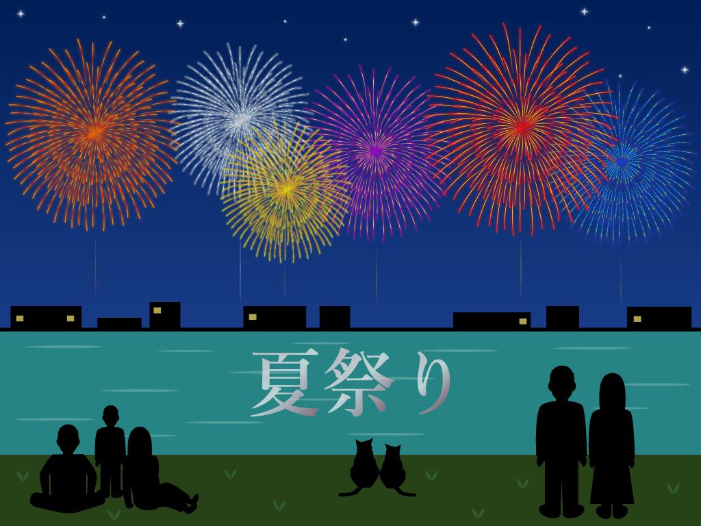 夏祭りの無料イラスト フリー素材集 - カフィネット